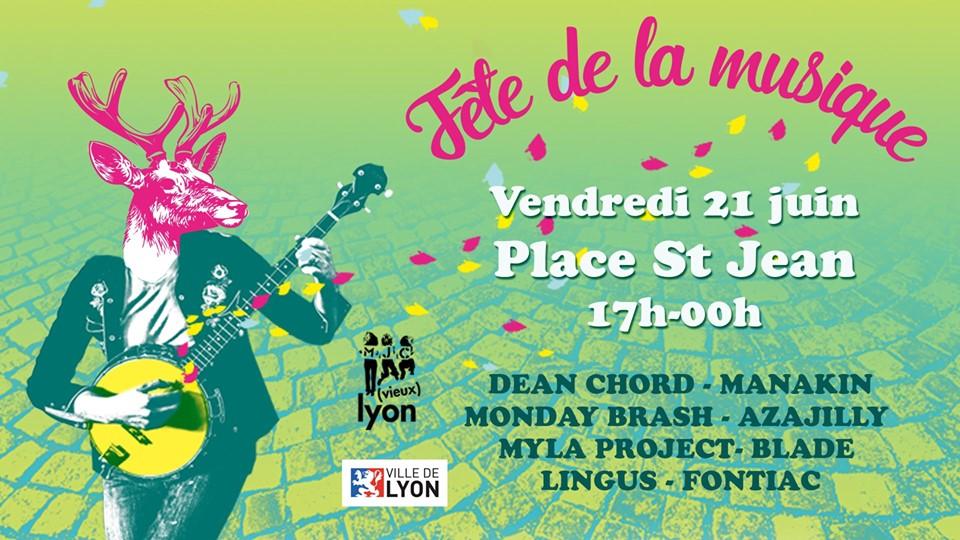 21/06 - Fête de la Musique / Lyon