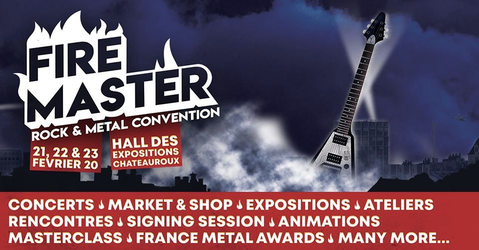 23/02 - Firemaster Convention @ Chateauroux