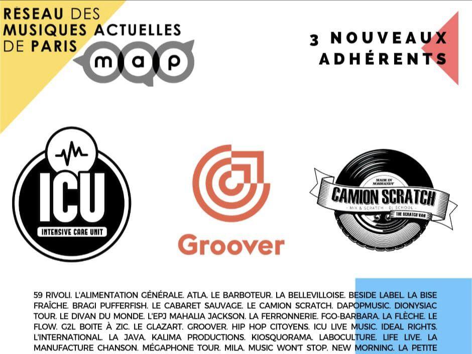 Groover - Réseau MAP