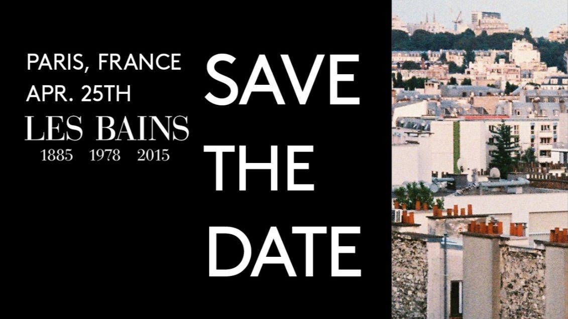 25/04 - Les Bains/Paris
