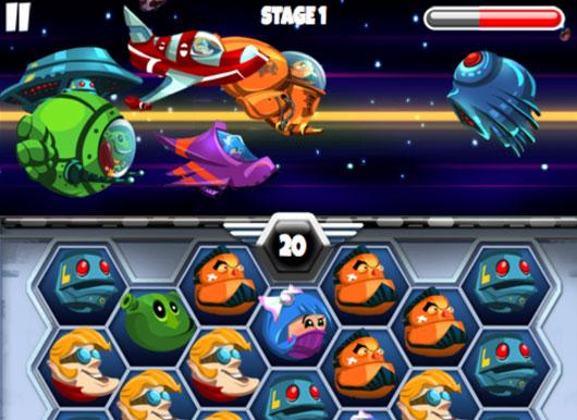เกมจับคู่นักรบอวกาศ