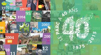 2015, l'année des 40 ans du parc