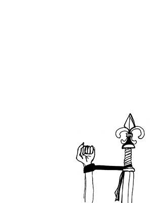 Robyn LeRoy-Evans 'Post Strip' drawing