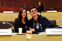 A.U.K students represent Kosovo at the European Youth Parliament