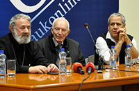 """A.U.K Student Government organized the forum """"Të mendojmë shqip"""""""