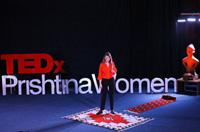 A.U.K. Charity Club idea brought up at TEDxPrishtinaWomen
