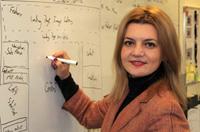 Venera Demukaj, an Economics Professor at A.U.K., wins Fulbright Scholarship