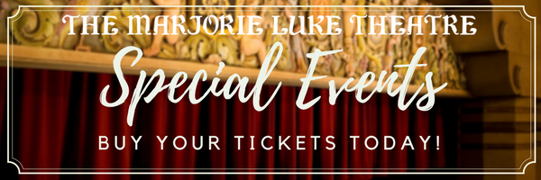 Marjorie Luke Theatre update for March 12 — Lewis & Tolkien on Stage on March 17