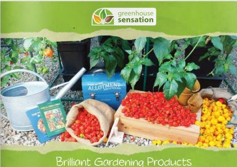 Greenhouse Sensation Brilliant Gardening Brochure