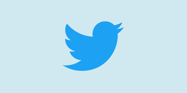 Best social channel for business; Twitter logo