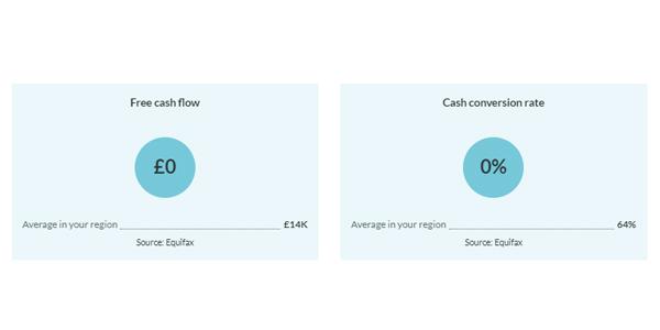 New and improved Handle Finance report cashflow card screenshot 2