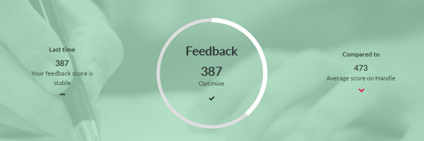 Handle feedback report dashboard