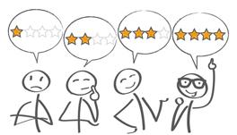 Reviews schrijven