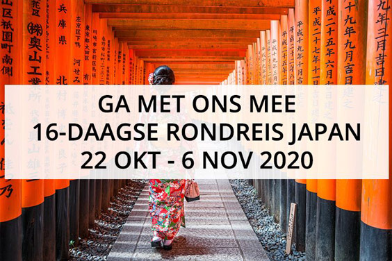 16-daagse rondreis Japan