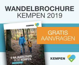 Wandelbrochure Kempen
