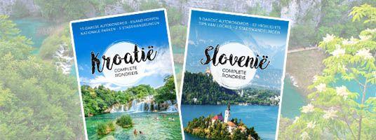 Reisgidsen Kroatië en Slovenië