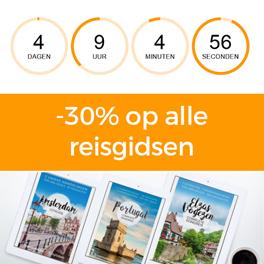 30% korting reisgidsen