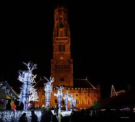 Kerstsfeer in Brugge