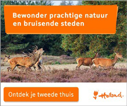 Nederland, je tweede thuis.