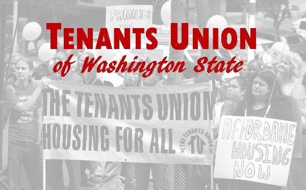 Tenants Union of Washington GiveBIG on May 2nd