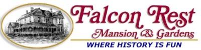 Falcon Rest Mansion newsletter sign-up form