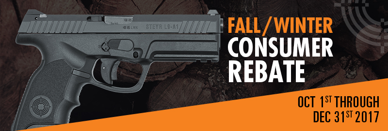 Fall/Winter Consumer Rebate 2017 - Steyr Arms and Merkel USA