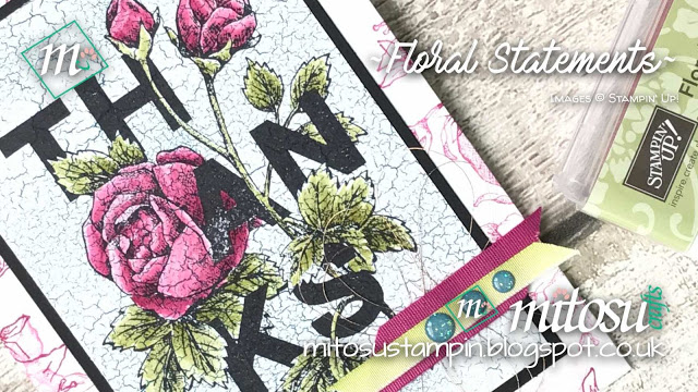 Stampin' Up! Floral Statements order Stampin Up! Products from Mitosu Crafts online shop