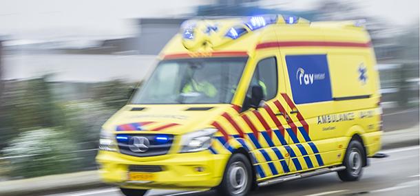Loeiende ambulance