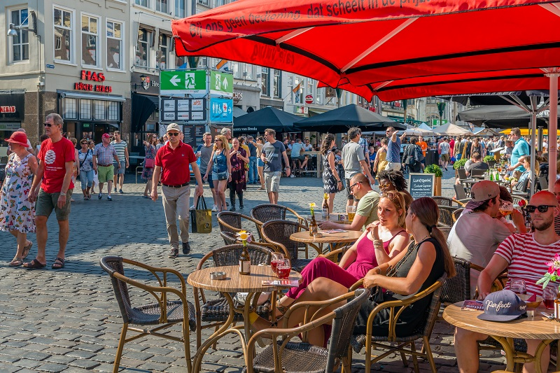 Foto van terras in Breda