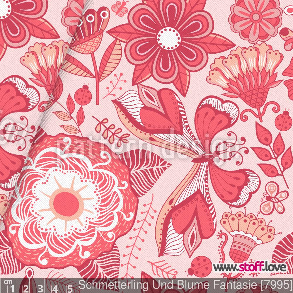 Schmetterling Und Blume Fantasie von Markovka
