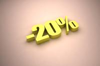 Rabais de 20%