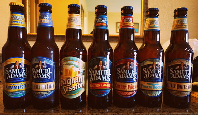 Sam Adams Beers