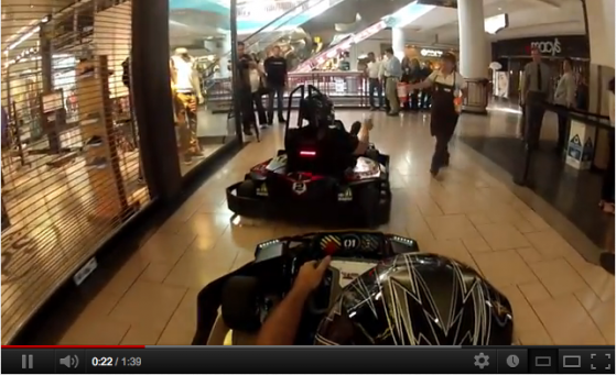 Pole Position in the Mall