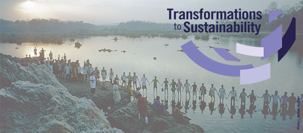 TKNs funded as part of the Transformations to Sustainability programme