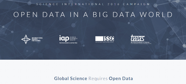 New website for Open Data-Big Data campaign