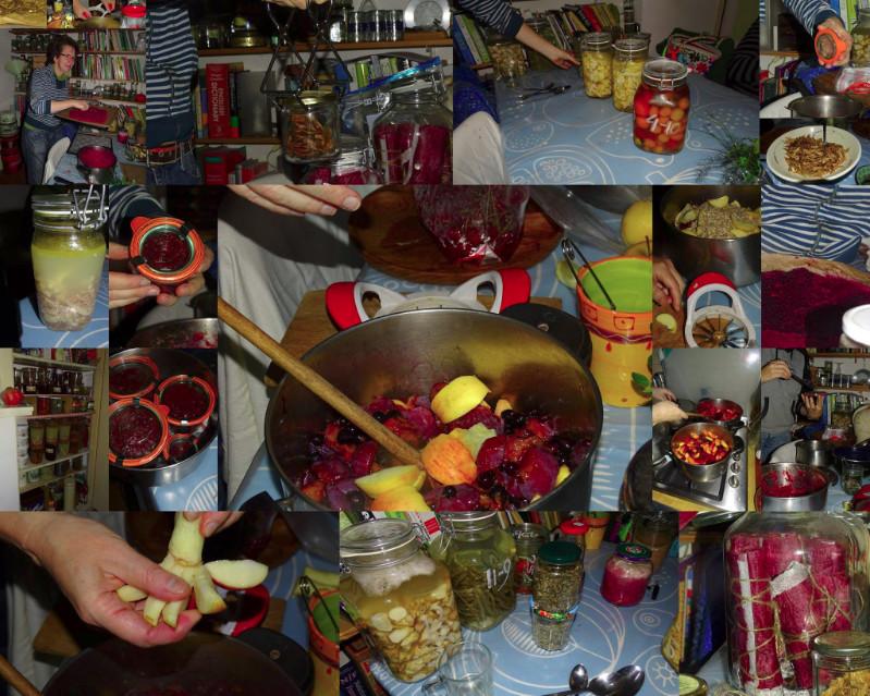 Deze collage maakte een lieve cursist van de zogenoemde Heksendriedaagse in de herfst van 2016!