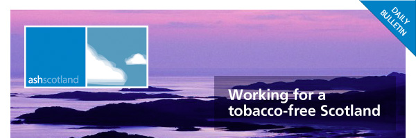 ASH: working for a tobacco-free Scotland