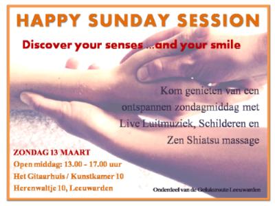 Happy Sunday Session- Geluksroute Leeuwarden