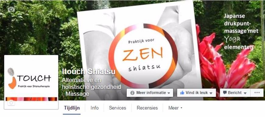 Itouch Shiatsu op Facebook