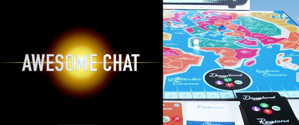 AWESOME CHAT: DRUG LORD THE BOARD GAME