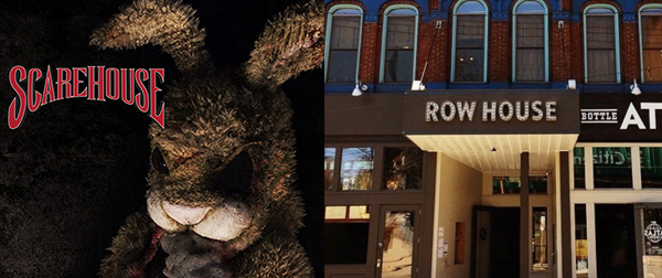 SCAREHOUSE PODCAST 132: MOLLY AND TRAVIS FROM ROW HOUSE CINEMA