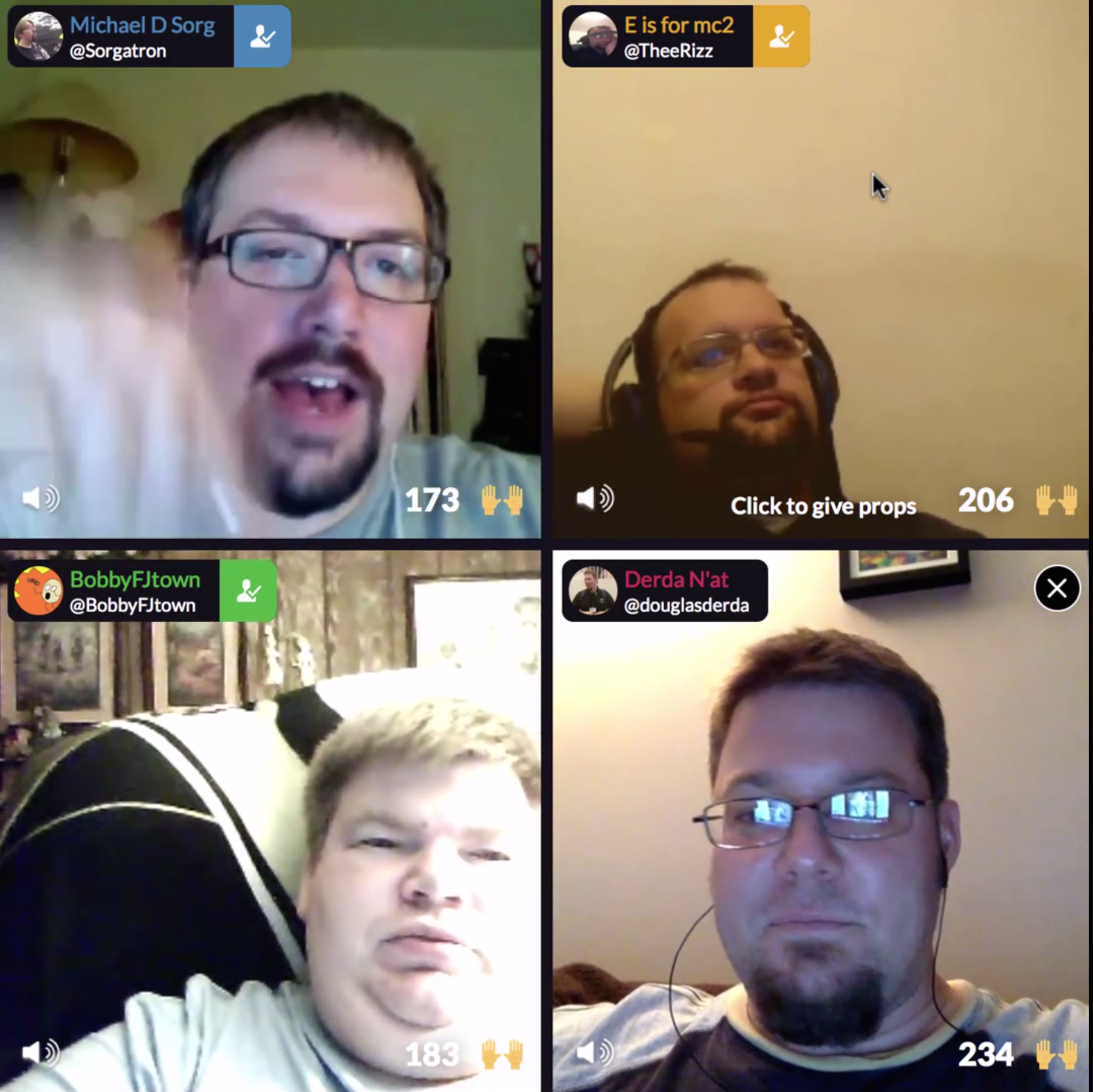 Blab with the guys