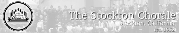 Stockton Chorale banner image