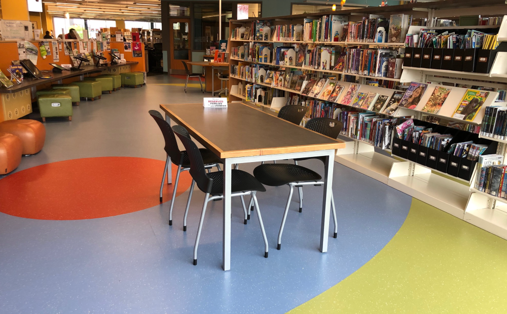 Newly remodeled space at Goodman South