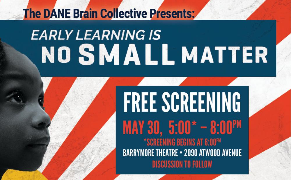 No Small Matter Film Screening