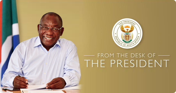 From the desk of the President, Monday, 10 February 2020