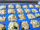 Cranberry Blueberry Orange Oatmeal Bites