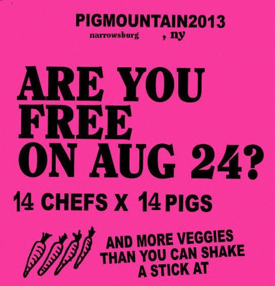Pig Mountain 2013