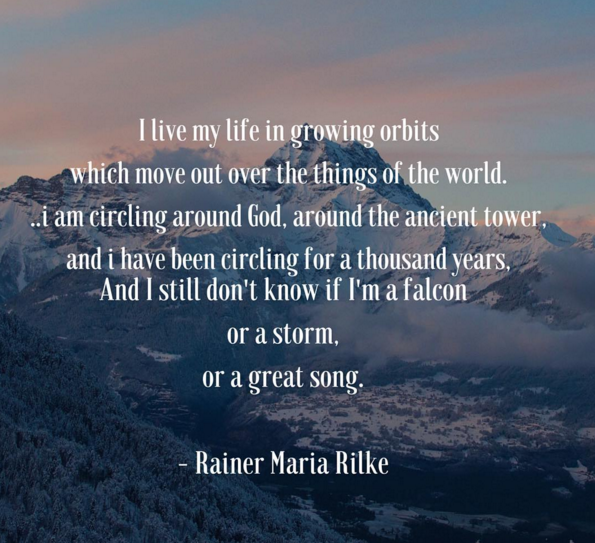 Mary Bue Music - Rilke Quote