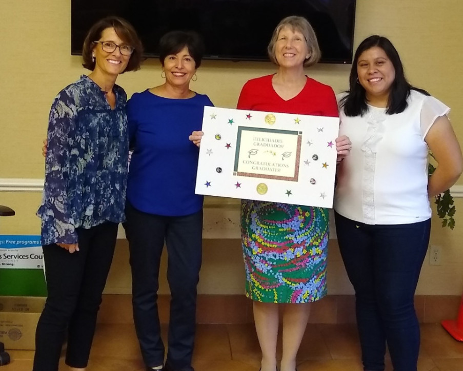 Our Diabetes Team (R to L): Karen, Siobhan, Yvone, Maria